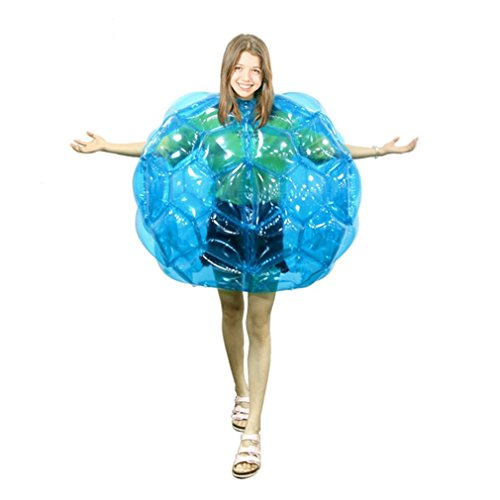 Geburtstag Geschenke aufblasbar Body Bumper Bälle Bubble Fußball passt viel Umweltfreundlich PVC Funny Body Zorbing Ball für Kinder 61cm
