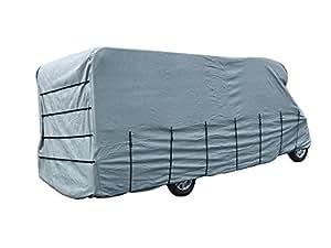 Maypole 9424 - Telo di copertura per camper, per lunghezze da 6,5 a 7 m, colore: Grigio
