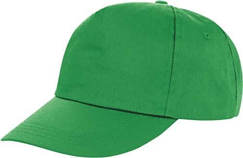 Result Headwear Unisex Cap Houston 5-Panel Printers RC080X Apple Green One Size