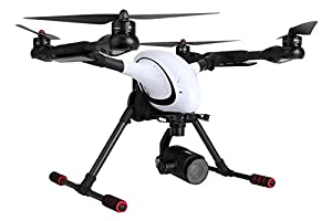 Walkera 15003400Voyager 4Quadrocopter RTF FPV Drone with 4K UHD Camera by XciteRC