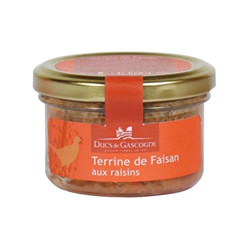Ducs de Gascogne - Terrine de Faisan aux raisins 90g