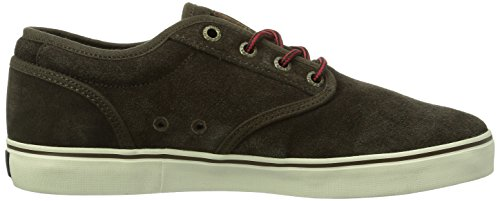Globe Motley, Chaussures de skateboard homme Marron (17253 Dark Brown)