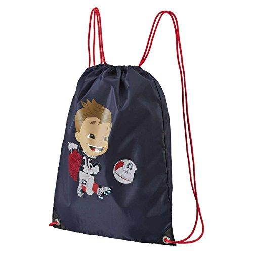 Navy Fußball-maskottchen (######### Gym-Bag Euro 2016 Maskottchen - navy, Größe:-)