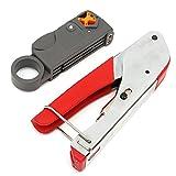 - Crimper Cable Kit, faway Koax RG59RG6F Schlauchverbinder-Crimper Kabel Kit