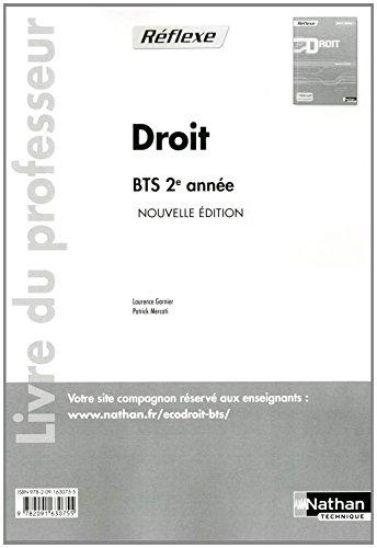 Droit BTS 2e année par Collectif