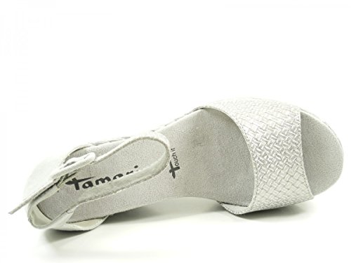 Tamaris 1-28308-28 sandales mode femme Grau
