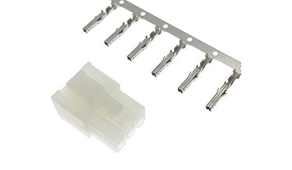MOLEX Stecker Kontakte m/änlich 6 polig pin crimp Micro FIT Reparatur Adapter