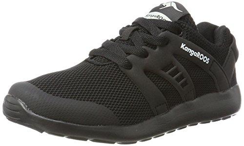 KangaROOS Unisex-Kinder Xcape Kids Sneaker, Schwarz (Black), 28 EU
