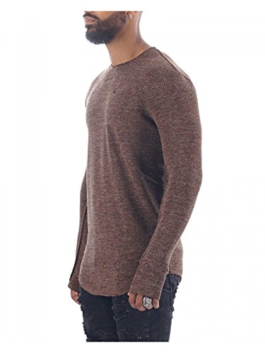 Project X Paris Herren Pullover Braun