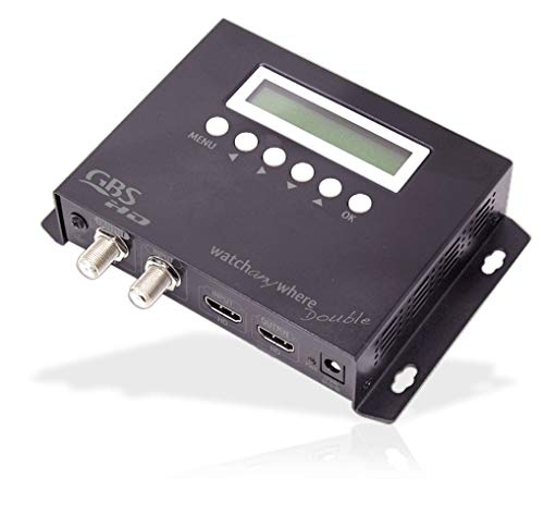 Modulatore Audio Video DVB T con Ingresso HD Watch Any Where Double COFDM h.264 Doppia HDMI GBS