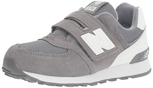 NEW BALANCE KV574 CKY grigio bianco scarpe bambino strappo sneakers Grigio