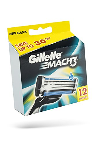 gillette-mach-3-manual-razor-blades-12-pack