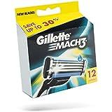 Ancienne version - Gillette Mach3 Lames de Rasoir Pack de 12