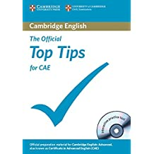 The Official Top Tips for CAE: Paperback and CD-ROM