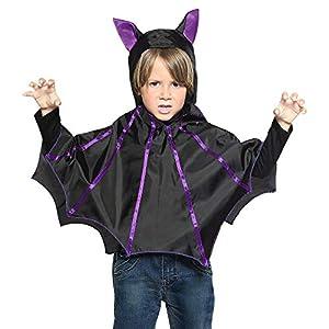 WIDMANN?murciélago Poncho con capucha para niños, talla única, vd-wdm96897