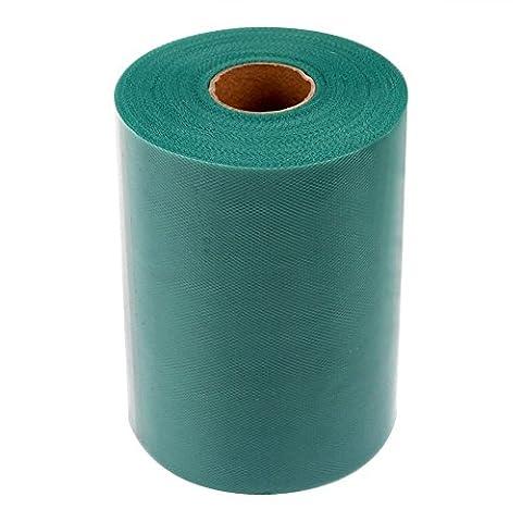 TILY 6 pouces x 100 mètres (300FT) Tulle Roll Spool Tutu Jupe Tissu Fête de Mariage Cadeau Bow Craft (Hunter Green / Teal Green)