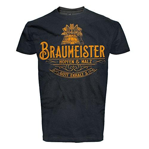 T-Shirt, DIY, Craft Beer, Bier, Hobby Shirt, Brauen, Braumeister