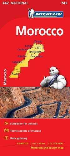 Morocco - Michelin National Map 742 (Michelin National Maps) por Norstedts kartor