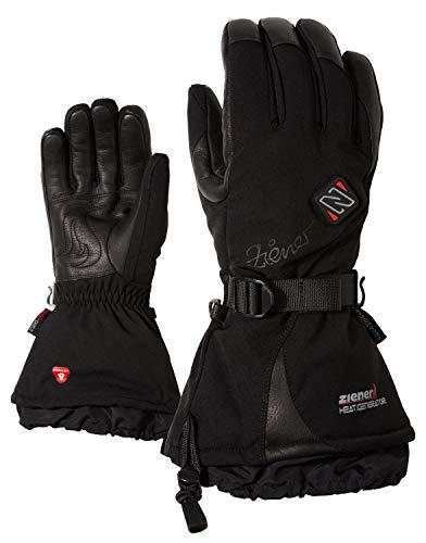 Ziener Damen Kanika AS(R) PR HOT Handschuhe, Black, 8