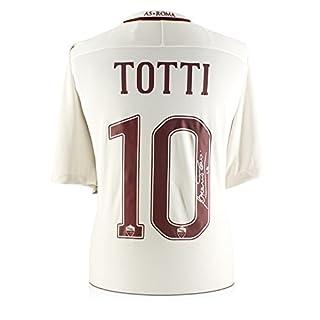Exclusive Memorabilia Francesco Totti signiert AS Roma 2016-17 Auswärtshemd: Die letzte Saison