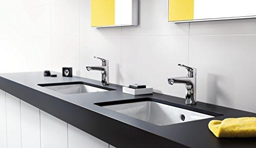 Hansgrohe – Waschtisch-Einhebelmischer, Ablaufgarnitur, Temperaturbegrenzer, Chrom, Serie Focus 100 - 4