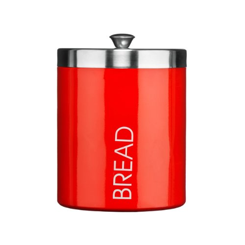 panera-bread-bin-red-colour-enamel-satin-stainless-steel-lid-attractive-and-shine-quality