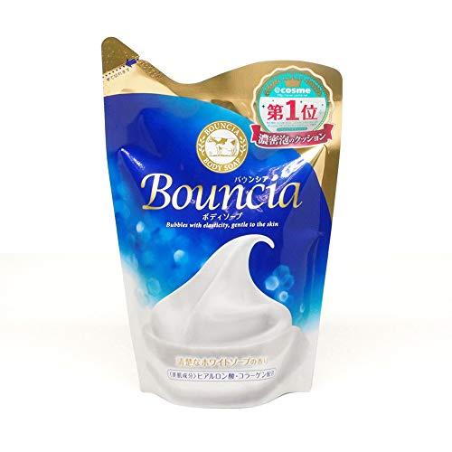 Gyunyu Bouncia Body Soap Premium Floral Pump@-Refill 430ml