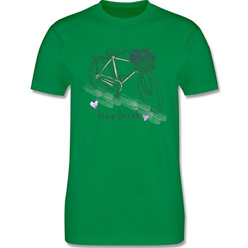 Vintage - Vintage Bike Go for a ride - Herren Premium T-Shirt Grün