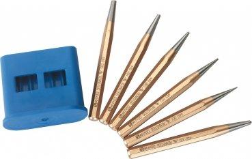 Triuso Durchtreibersatz 6-tlg. Körner Durchtreiber 1-2-3-4-5mm Austreiber Durchtreiber Durchschlag Splintteiber Splintentreiber