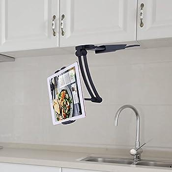 actopp k che tablet halterung tablet tischst nder 2 in 1. Black Bedroom Furniture Sets. Home Design Ideas