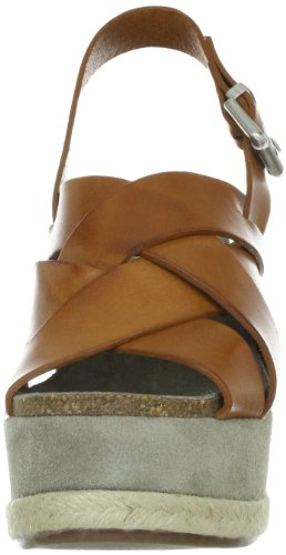 Manas daniela 121D2411V, Sandales femme brun (Cuoio)