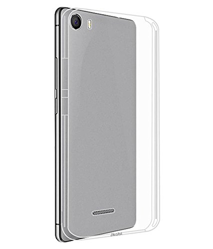 Evoque High Quality Ultra Thin Transparent Silicon Back Cover For Micromax Canvas 5 E481 4G  available at amazon for Rs.125