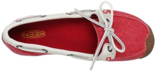 Keen , Chaussures de ville à lacets pour femme Rouge - True Red
