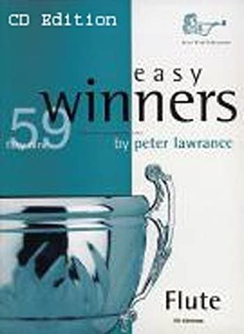 Easy Winners for Flute (CD Edition), Peter Lawrance