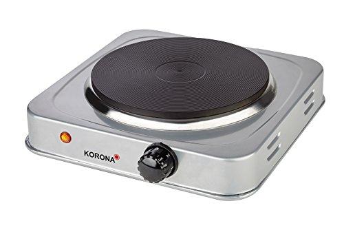 Korona - Einzelkochplatte 59020 | 1500 Watt | Schwarz/Silber