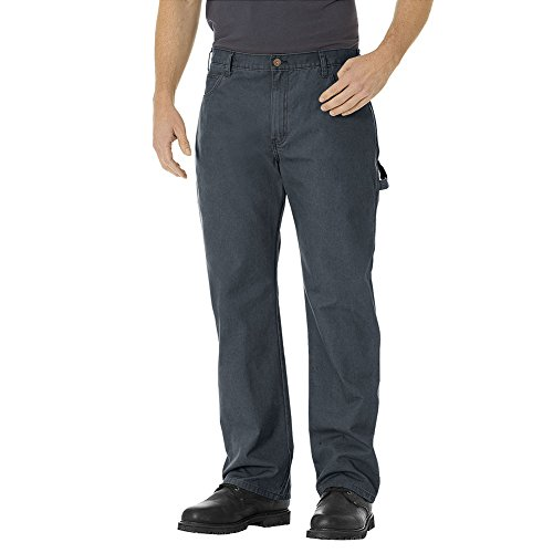 Dickies - - Le DU250 homme Relaxed Straight Fit Lightweight Canard Carpenter Jean Rinsed Diesel Gray
