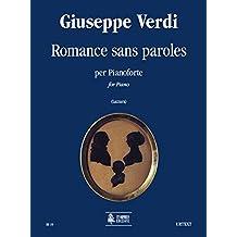 Romance sans paroles. Per pianoforte. Spartito. A cura di Marco Lazzara. Urtext