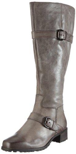 Hassia Abano, Weite J 2-306381 Damen Stiefel Grau/Graphit