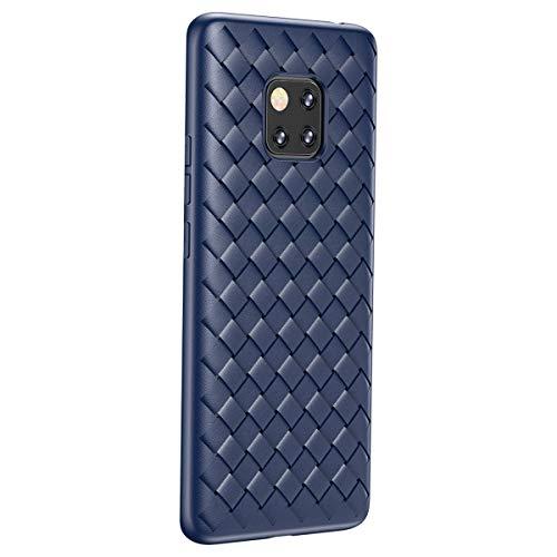 Joyxeon mate Huawei 20 PRO Woven BV, anti-risco Anti-queda de protecção TPU respirável Anti-zero capa protetora Luz Titular para Huawei Companheiro 20 PRO
