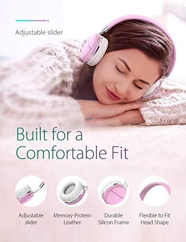 Bluetooth Kopfhörer über Ohr, Tribit XFree Tune HiFi-Kopfhörer kabellos Wireless Kopfhörer mit satten Bass, 24 Stunden Spielzeit, 2 x 40 mm Treiber, Bluetooth 4.1 CSR Chips, 3,5 mm AUX Unterstützung - 4