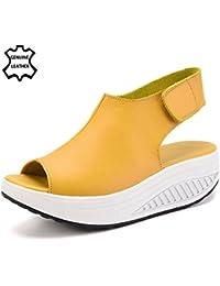 XMeden - Sandalias de Piel mujer