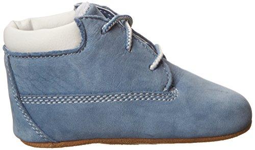 Timberland Crib Bootie W/Hat, Chaussons bébé garçon Bleu (Blue)