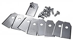 9 knifes / 9 blades including Screws for Husqvarna Automower® and Gardena®