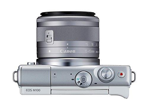 Canon EOS M100 con EF-M 15-45 mm