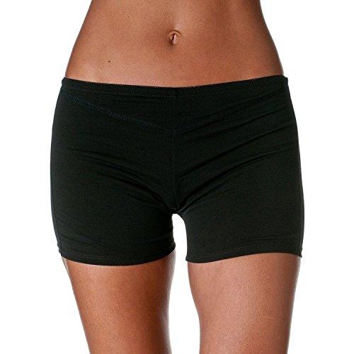 BSLINGERIE® Damen Butt Lifter Panties Enhancer Boyshorts Unterwäsche Shapewear Schwarz Shorts