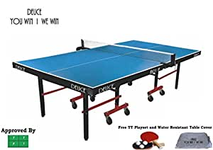 Fieldsheer Deuce 801 In Table Tennis Table (Complimentary Stag One Star Play Set)