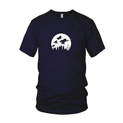 Potter Moon - Herren T-Shirt, Größe: S,