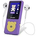 """Zacro MP3 Player Kinder mit kopfhörer 1,8"""" Bildschirm unterstützt UKW Radio Spiele Schlaftimer und Sprachaufnahme mit der Englische und deutsche Bedienungsanleitung -"""
