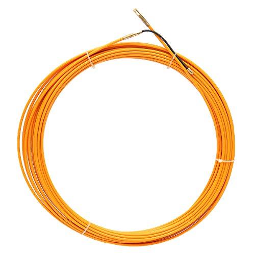 JCHUNL 10M / 20M / 30M 4mm Fiberglas-Kabelabzieher-Fisch-Bandspulen-Rohrleitung, die Rodder zieht Abzieher New Hot (Color : 20M)