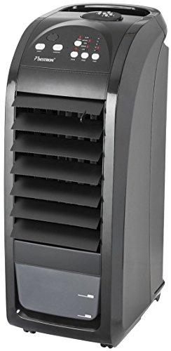 Bestron AAC5000 Rafraîchisseur d'air, Mobile + télécommande, Noir